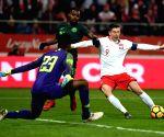 POLAND WROCLAW SOCCER POLAND VS NIGERIA