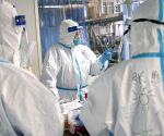 450 military medics sent to Wuhan in coronavirus fight