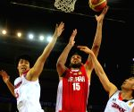 WUHAN, Match between Iran and Japan at the 5th FIBA Asia Cup basketball tournament in Wuhan