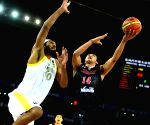 Japan V/S India Match of 5th FIBA Asia Cup basketball tournament