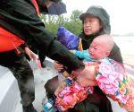 CHINA WUHAN FLOOD DIKE BREACH