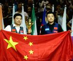 CHINA WUXI SNOOKER WORLD CUP TEAM