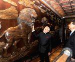 Xi'an (China): PM Modi at Big Wild Goose Pagoda