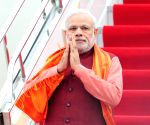 Xi'an: CHINA XI'AN INDIAN PM MODI VISITING