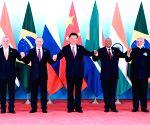 CHINA XIAMEN BRICS XI JINPING MEETING