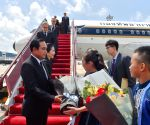 CHINA XIAMEN THAILAND PM ARRIVAL