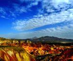 Danxia Landform Geological Park in Zhangye City