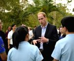 CHINA YUNNAN PRINCE WILLIAM VISIT