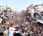 YS Jaganmohan Reddy during a public meeting