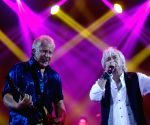 Russell Hitchcock of the rock band Air Supply performs during the Air Supply Live in Myanmar concert