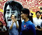Yangon (Myanmar): Aung San Suu Kyi's press conference