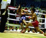MYANMAR-YANGON-TRADITIONAL BOXING MATCH-INTERNATIONAL SPECIAL CHALLENGE
