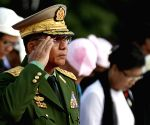MYANMAR YANGON MARTYRS' DAY COMMEMORATION
