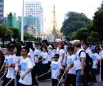 MYANMAR-YANGON-INTERNATIONAL WHITE CANE DAY