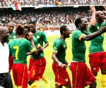 Cameroon v/s Cote d'Ivoire during the qualifying match of Africa Cup 2015