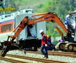 SOUTH KOREA YEOSU TRAIN ACCIDENT