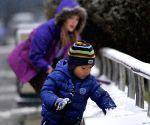 Snowfall in Yinchuan