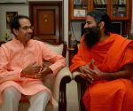 Ramdev calls on Shivsena Chief