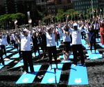 135 nationalities join International Yoga Day celebrations at UN ()