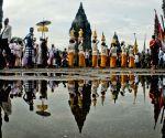 INDONESIA YOGYAKARTA HINDUISM NYEPI