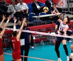 JAPAN-YOKOHAMA-VOLLEYBALL-WOMEN'S WORLD CUP-CHN VS KOR