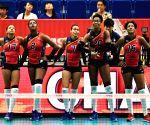 JAPAN-YOKOHAMA-VOLLEYBALL-WOMEN'S WORLD CUP-DOM VS CMR