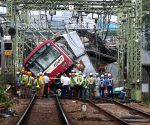 1 dead, over 30 hurt in Japan train-truck collision