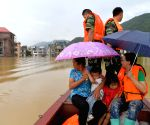 CHINA JIANGXI YONGXIN COUNTY HEAVY RAIN FLOOD