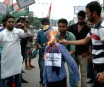 Youth Congress demonstration against Vaidik