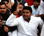 Congress' demonstration against death of Unnao rape victim