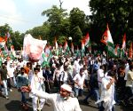 Youth Congress activists protesting against farm Bills 2020 & unemployment detained