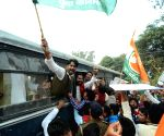 Youth Congress demonstration against demonetisation