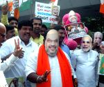 Youth Congress demonstration against Amit Shah