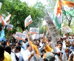 Youth Congress, NSUI's demonstration