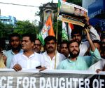 Youth Congress demonstration to demand justice for Unnao gangrape victim