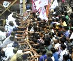 Demonstration against WB Govt