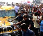 Jaganmohan Reddy interacts with people