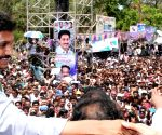 Jaganmohan Reddy during a rally