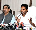 Jaganmohan Reddy's press conference