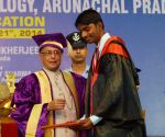 President Mukherjee at the First Convocation of NIT Arunachal Pradesh