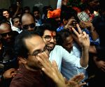Aditya Thackeray files his nomination papers