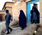 (WORLD SECTION) AFGHANISTAN-ZABUL-FEMALE POLICE OFFICER