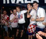 CROATIA ZADAR FIFA WORLD CUP CELEBRATION
