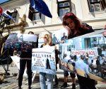 CROATIA ZAGREB EARTH DAY PROTEST