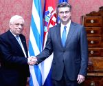 CROATIA ZAGREB GREECE DIPLOMACY