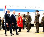 CROATIA ZAGREB U.S. DEFENSE SECRETARY VISIT