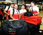 CROATIA-ZAGREB-RIO OLYMPICS-MEN'S HANDBALL TEAM DEPARTURE