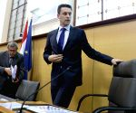 CROATIA ZAGREB PARLIAMENT SPEAKER RESIGNATION