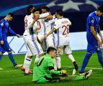 CROATIA-ZAGREB-SOCCER-UEFA CHAMPIONS LEAGUE-DINAMO VS LYON