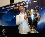 CROATIA-ZAGREB-UEFA CHAMPIONS LEAGUE TROPHY TOUR